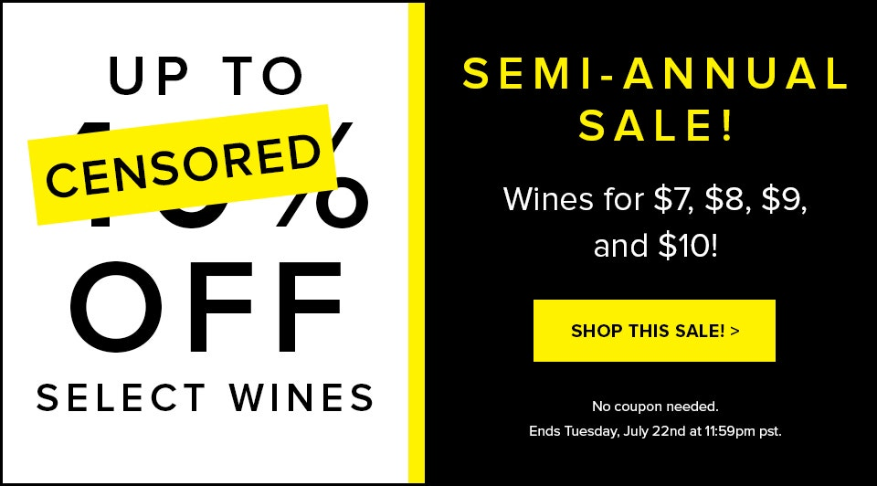 Semi-Annual Sale (July)