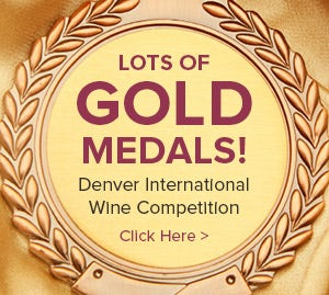 Gold Medals from Denver International Wine Comp